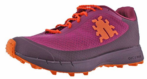 Icebug Women's Minimalist Trail Running Traction Shoes For Outdoor Athletes Oribi RB9X Magenta, Size  6