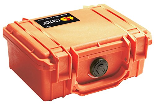 Pelican 1120 Case With Foam (Orange) (Orange Hard Case)