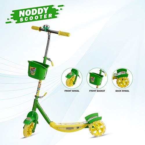 Archana NHR 3 Wheel Noddy Scooter For Kids (Green) (B0775L2DP9) Amazon Price History, Amazon Price Tracker
