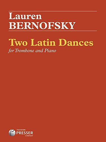 Two Latin Dances For Trombone And Piano