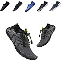 YALOX Men Women's Water Shoes Outdoor Beach Swimming Aqua...
