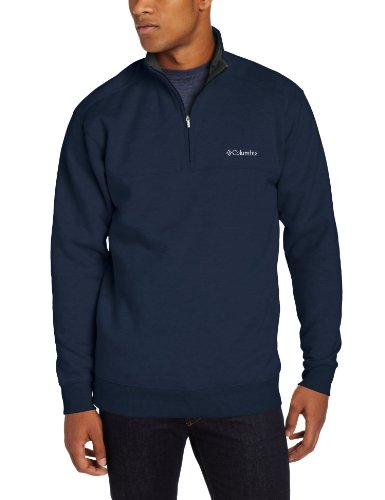 Columbia Men's Hart II 1/2 Zip Jacket, Collegiate Navy, Large ()