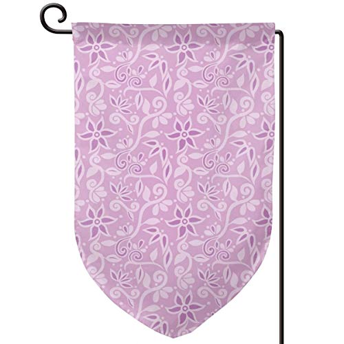 Homemen Garden Flag Summer,Rapunzel Bodice Floral Smaller_249,12.5 x 18 Inch