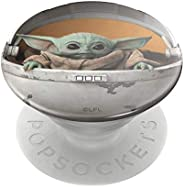 PopSockets PopGrip: Swappable Grip for Phones & Tablets - Star Wars - The Child