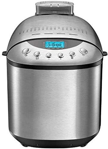 XCT hogar Completamente automática Masa máquina de Pan Mezclador, Acero Inoxidable de Doble agitación Masa Mezclador