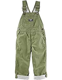 Toddler Boy Cuffed Overalls