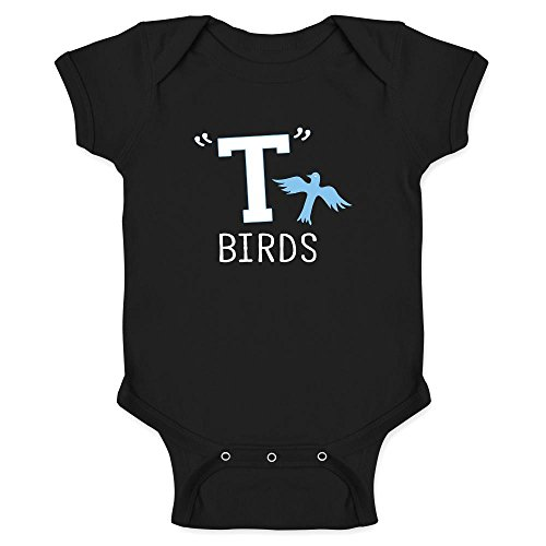 T Birds Gang Logo Costume Retro Black 12M Infant -