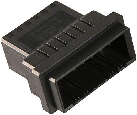 Dynamic D-3100D Series Plug 3.81 mm, Connector Housing 12 Positions Pack of 20 178964-6