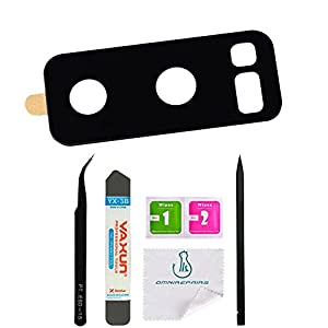 OmniRepairs Rear Facing Glass Camera Lens Replacement with For Samsung Galaxy Note 8 SM-N950 with Adhesive and Repair Toolkit