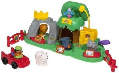 Fisher-Price - Mundial del Animal Zoo Little People Sonidos (Mattel): Amazon.es: Juguetes y juegos