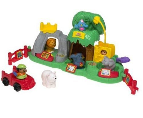 Fisher Price Little People Animal Sounds Zoo - Fisher-Price Little People Animal Sounds Zoo