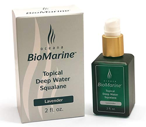 Squalane Topical Oil - Lavender Fragrance - Liver Oil Squalene Shark