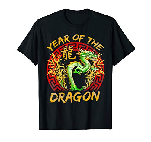 Year of the Dragon Chinese Zodiac Gift T-shirt (Zodiac Dragon Year)
