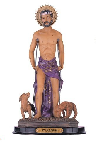 "12"" Inch St Clare Saint Santa Clara Claire San Statue Figuri"