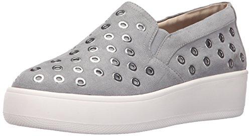Steve Madden Women's Belit Fashion Sneaker, Grey, 8.5 M US