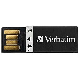 Amazon.com: Verbatim Clip-it unidad flash USB, Negro ...