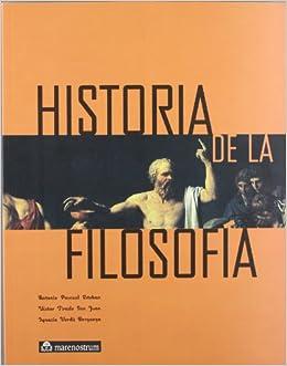 Book HISTORIA DE LA FILOSOFIA Mnostrum