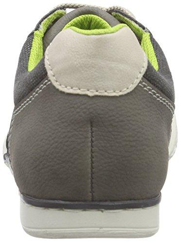 Rieker 19111 Sneakers-Men Herren Sneakers Grau (cement/anthrazit/limette/chalk / 41)