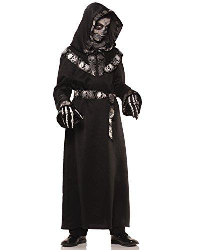 [Underwraps Big Boy's Underwraps Boy's Skull Master Costume, Large Childrens Costume, Multi, Large] (Reaper Costume Ideas)