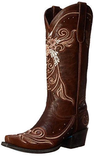 Lane Boots Women's Wedding Western Boot, Brown, 9 M US by Lane Boots