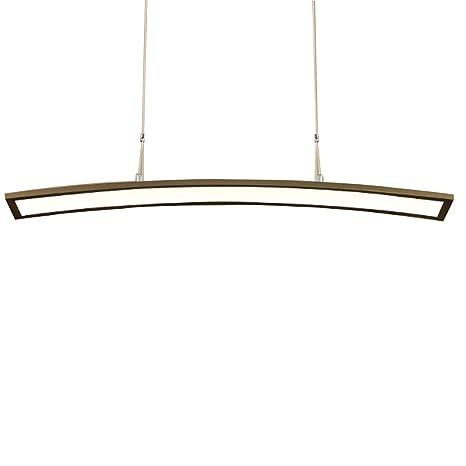 Lámpara colgante Lámpara LED regulable Lámpara de mesa de ...