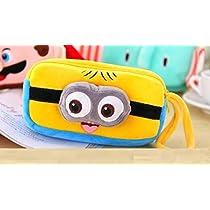 FunBlast Cute Minion Premium Soft Printed Case Cartoon Char