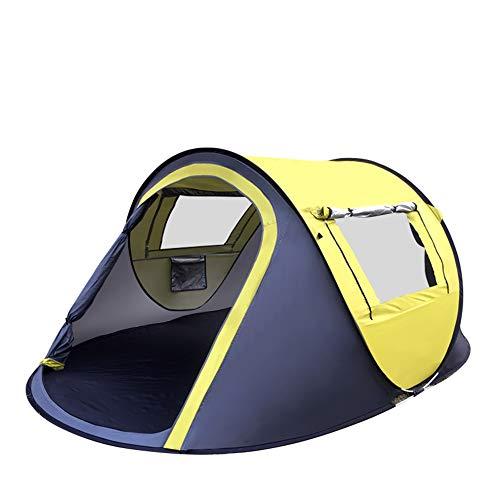 計算可能歯痛溶岩屋外の2?3人が屋外キャンプテントを建てる必要はありませんポータブルボートテント