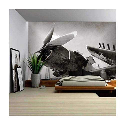 World War II Era Navy Fighter Plane Wall Decor