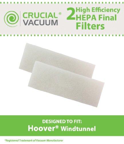 2 Hoover WindTunnel Final Filter Fits Hoover WindTunnel,