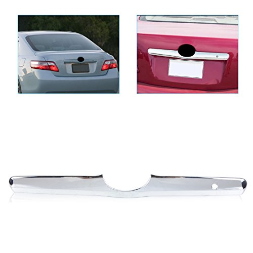 (Exterior Parts Beler Abs Triple Chrome Tailgate Trunk Hatch Trim Bezel Cover For Toyota Camry 2006 2007 2008 2009 2010 2011)