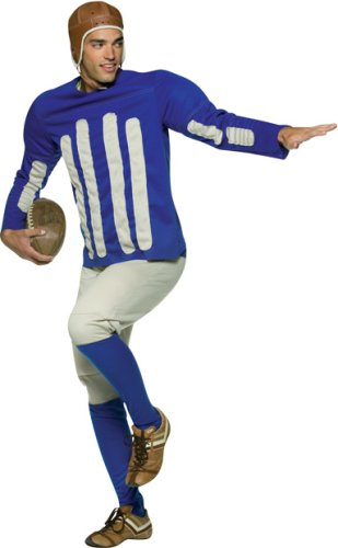 Old Tyme Football Player Adult Costume - One Size