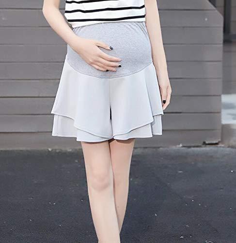 WNuanjun Color Liso Pantalon Grossesse Commuter Faldas Embarazadas ...