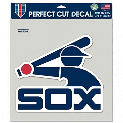- Stockdale Chicago White Sox BATTERMAN Logo WC 8x8 Decal Reusable Flat Vinyl Perfect Cut Baseball