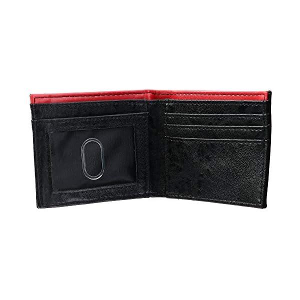 Marvel Deadpool Bi-Fold Boxed Wallet, Red & Black, One Size