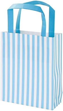 Mariage et Cadeaux Talking Tables Mix and Match Sachets /à Friandises en Papier pour Anniversaire Bleu Paquet de 8