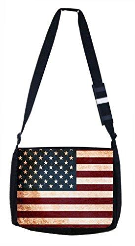 Lea Elliot School Messenger Bag, Grungy American - Popular 50s Names