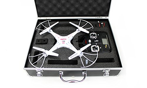 Syma X5C-1 Quadcopter Drone Bundle with Carrying Case and