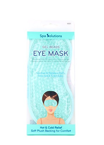 Cala Spa Solutions Gel Beads Eye Mask Teal (Solutions Spa Care)