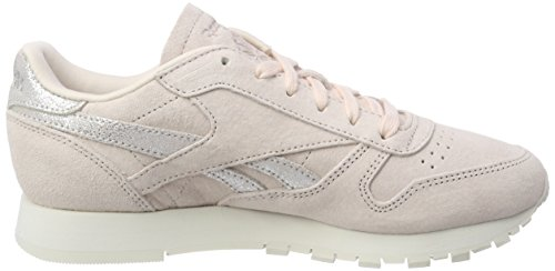 Pinkmatte Classic Rose Silverchalk Shimmer Reebok Baskets pale Leather UqwPWaxY