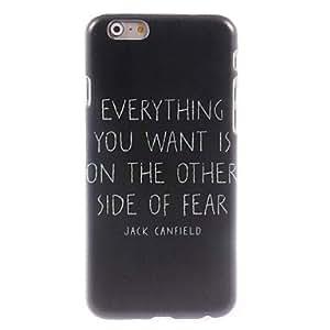 WQQ todo lo que quieres diseñar caso duro para el iPhone 6 Plus