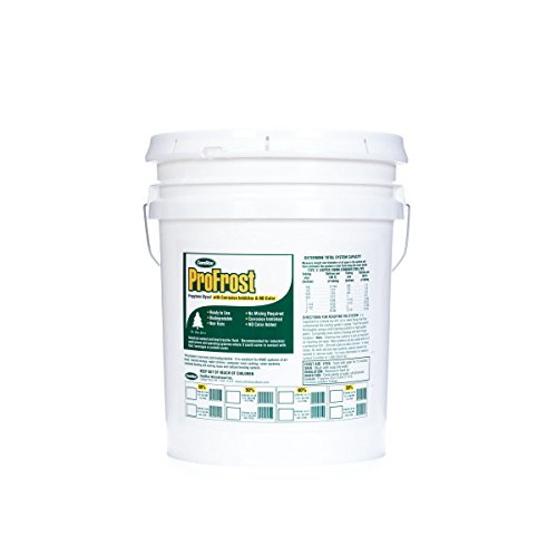 ComStar 35-749 ProFrost Chiller/Anti Freeze/Heat Transfer Fluid with Corrosion Inhibitor and NO Color, 30% Solution Ratio, 5 gal Pail, Clear by Comstar