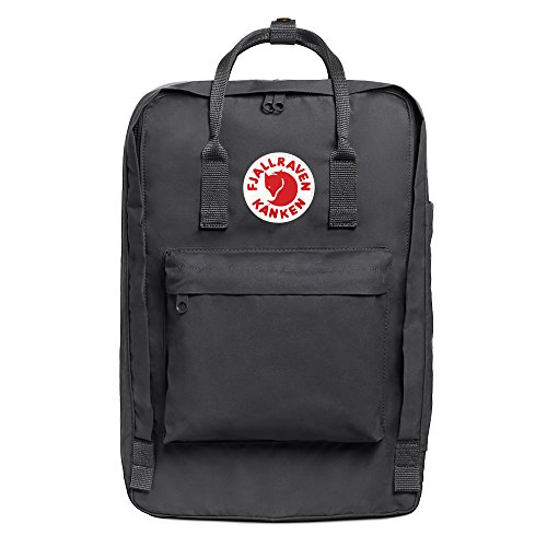 "Fjallraven - Kanken Laptop 17"" Backpack for Everyday, Super Grey"