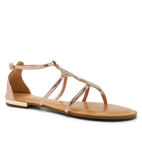 Argent argent femme Gladiator London Footwear CwS4q46