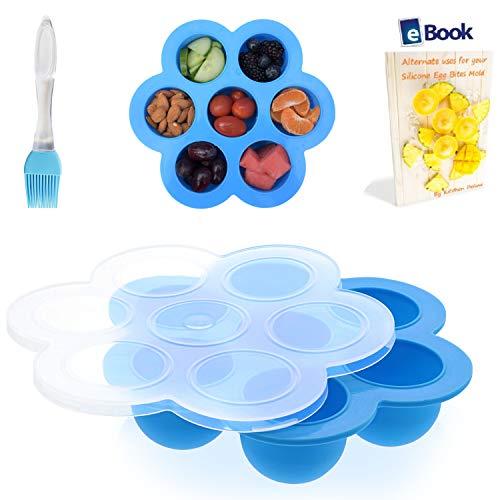 PREMIUM Silicone Egg Bites Molds - BEST Bundle - Fits Instan