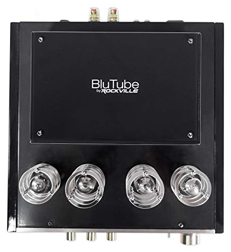 Rockville BluTube Tube Amplifier Bluetooth Receiver for Klipsch RP-400M Speakers