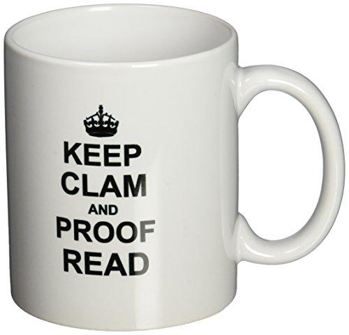 3dRose mug 194448 1 Read Funny Proofread 11 Ounce