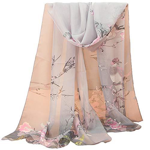 Pumsun Women Fashion Jacquard Cotton Parisian Stripe Shawl Soft Beach Towel Scarf (G)