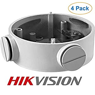 CB130 DS-1260ZJ Camera Wall Mount Bracket for Hikvision Bullet IP Camera (4 PK)