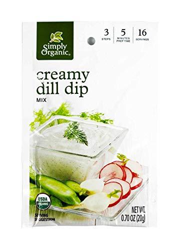 (Simply Organic, Dip Mix Creamy Dill Organic, 0.7 Ounce)