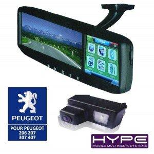 d0cbd9371537b4 HYPE HV4321CA700 Retroviseur GPS + camera de recul PEUGEOT  Amazon ...